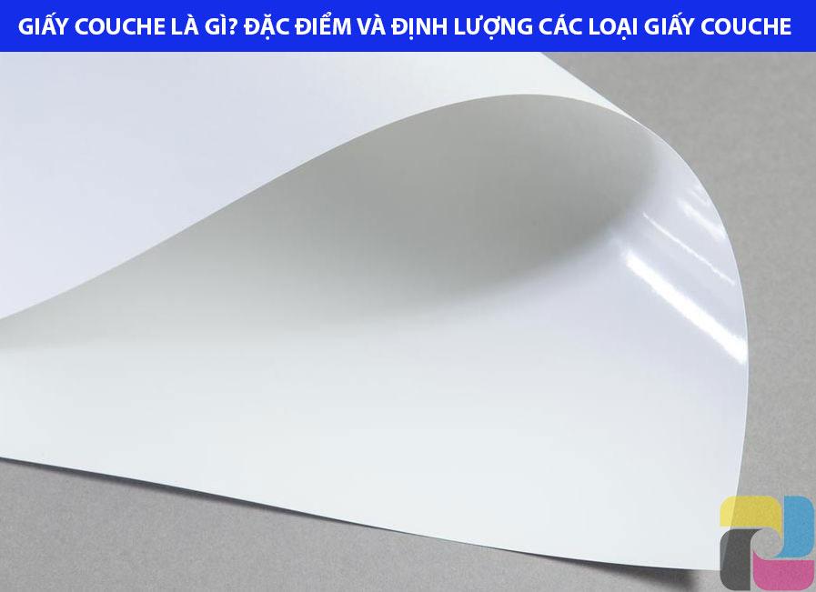 tổng quan giấy couche