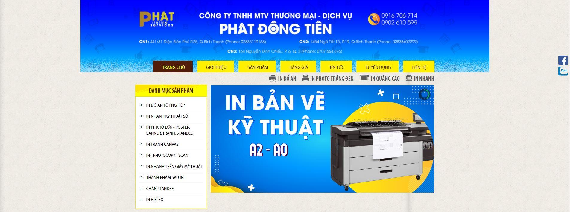 Tiệm in Phát