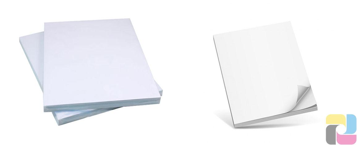 Decal giấy đế trắng