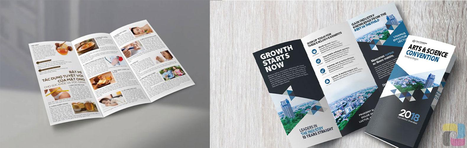 leaflet và brochure