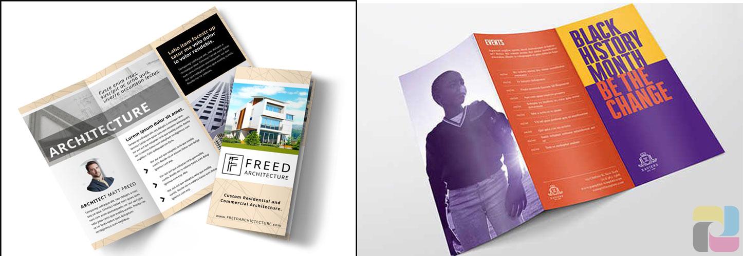 leaflet và pamphlet