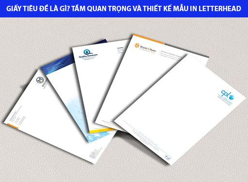 giấy Letterhead